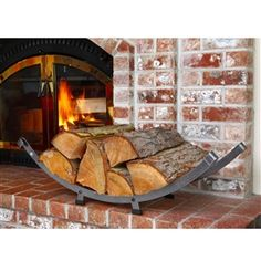 Enclume LR24 Arch Basket Log Rack by Enclume at Timeless Wrought Iron