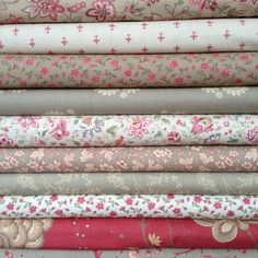 ~ Pretty pretty Rouenneries Deux by French General by the workroom, via Flicker . Fabric Yarn, Fabric Ribbon, Fabric Crafts, Sewing Crafts, Quilting Fabric, French General Fabric, French Fabric, Textiles, Quilt Material