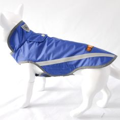2016 Spring My Pet Brand Waterproof clothes for dog outdoor raincoat safety blue jacket easy wear Reflective pet dog coats 3XL