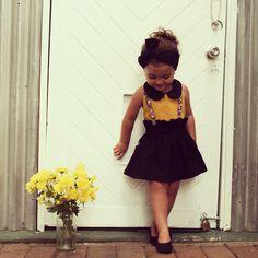 Black Betty Highwaisted Skirt