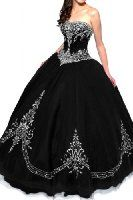 Sunvary Luxurious Burgundy Ball Gown Quinceanera Dresses for Prom with Ruffles  Sunvary