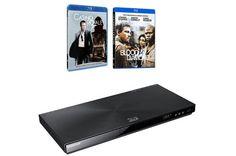 Lecteur Blu ray SAMSUNG BDE6400 2BR Prix Darty € 169.00