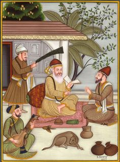 He sang the poem - Let mercy be the cotton, contentment the thread, continence the knot and truth the twist. O priest! If you have such a thread, do give it to me. It'll not wear out, nor get soiled, nor burnt, nor lost says Nanak, blessed are those who go about wearing such a thread (Rag Asa). As a young man herding the family cattle, Nanak would spend long hours absorbed in meditation and in religious discussions with Muslim and Hindu holy men who lived in the forests surrounding the…