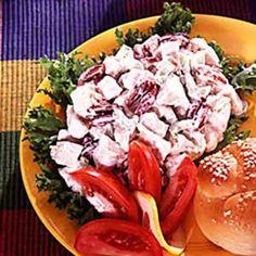 Chicken Pecan Salad ~ tasteofhome.com
