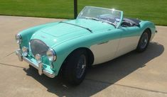 First classic car I fell in love with was an Austin Healey, at a used-car lot I passed walking home from drivers' ed every day when I was 15. :-)