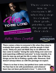 📚 Send Her To Me Lord by Khara Campbel ✍ Engage with the Author on social media ←→ Name-drop the Author in your conversation