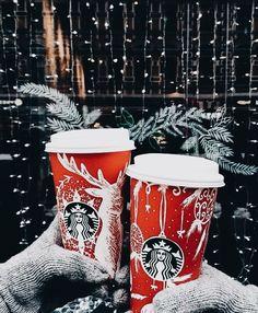 Merry Christmas from Starbucks! Christmas Mood, Merry Little Christmas, Noel Christmas, Christmas Coffee, Christmas Tumblr, Starbucks Christmas Cups, Christmas Quotes, Starbucks Coffee, Christmas Drinks