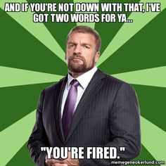 Big baddy Triple H