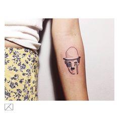 """"""" #charliechaplin #moderntimes #customtattoo #tattrx #tattooer #tattoo #tattoos #tat #ink #inked  #tattoist #art #design #instagood #vscocam #tattooartist…"""""""