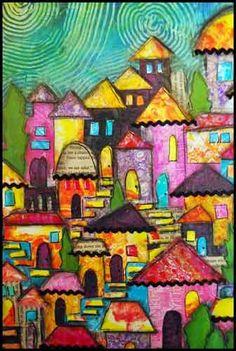 The Art House Studio: Creative Crossover - Using Gelli Prints