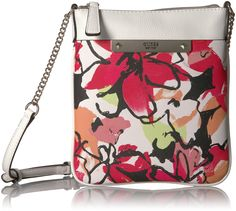 ce301ce697 GUESS Britta Floral Crossbody Top Zip – Jewelry   Gifts. Popular  HandbagsHandbags ...