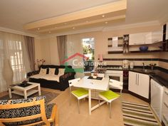 На продажу полностью меблированные апартаменты от скандинавского собственника в 100м от пляжа Клеопатры - Алания центр Недвижимость - Алания Недвижимость - Анталия - Турция