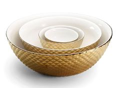 Diamond Cut Nesting Bowls on @FoodNetwork! #DwellStudio