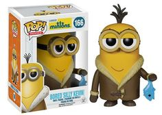 Gru's adorable Minions from the Despicable Me series have done the unthinkable! That infectious cuteness earned the little guys their very own Minions movie. This stylized Minions Movie Bored Silly Kevin Pop! Vinyl Figure stands approximately 3 Minions Film, Minion Movie, Minions Despicable Me, Funny Minion, Funny Jokes, Toy Art, Pop Vinyl Figures, Pop Minion, Otaku