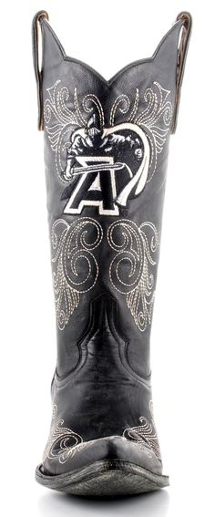 Womens Gameday Boots West Point Army Boots Black #Arm L022-1 -- Army Black Knights fans need these!
