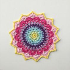 Magnolia Mandala   - Free Crochet Pattern