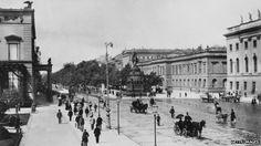 Berlin, Unter Den Linden, 1900