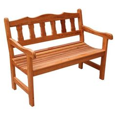EASY Do It Yourself OUTDOOR BENCH: A bench that will allow you to make organized and also very romantic picnic in your very own yard is an extremely concept, right? Teak Furniture, Outdoor Furniture, Outdoor Decor, Sala Set, Tuscan House Plans, Modern Bench, Easy Woodworking Projects, Cement Tiles, Mosaic Tiles