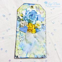 #iamrosesproject #iamroses #tag #springtag #iamrosesflowers #blue #shadesofblue #yellow #blueandyellow #scrapbooktag #scrapbooking #flowertag