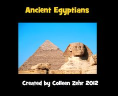by Colleen Zehr - Grade Here is a mini-unit on the Ancient Egyptians. It is a ZIP file that includes a PDF files of the foll. Social Studies Lesson Plans, 6th Grade Social Studies, Social Studies Classroom, Social Studies Activities, Teaching Social Studies, Teaching Culture, Ancient Egypt Lessons, Ancient History, Fun Classroom Activities