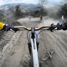 Go Pro Picture During Downhill