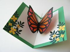 Butterfly pop-up card