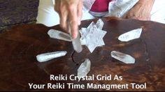 Reiki Crystal Healing Grid- Your Reiki Time Management Tool - http://thehealingbowl.net/videos/reiki-crystal-healing-grid-your-reiki-time-management-tool/