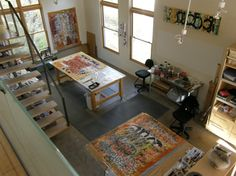 laura waits studio. Or this one. This studio is pretty cool looking