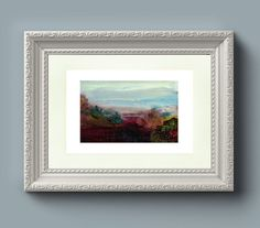 Wall Art Print: River Severn Abstract from an by EleanoreDitchburn