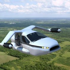 A personal flying car?Terrafugia, a Massachusetts company is working on a futuristic flying car called the TF-X, which it expects to start selling in the early Cool Technology, Technology Gadgets, First Flying Car, Automobile, Transporter, Vw Bus, Concept Cars, Cool Cars, Dream Cars