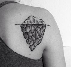 Probably not quite this design but I love the idea of an iceberg tattoo :)