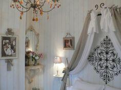 Fabriquer une tête de lit romantique