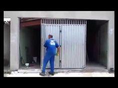 INVENÇÕES 2 - PORTÃO PARA QUEM TEM POUCO ESPAÇO NA GARAGEM - YouTube