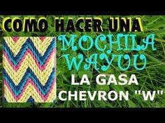 COMO HACER GASA O FAJON WAYUU PARTE 1/3 - YouTube Chevron Friendship Bracelets, Tapestry Crochet Patterns, Tribal Patterns, Crochet Projects, Diy And Crafts, Knitting, Sewing, Youtube, Handmade