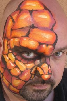 Face Painting - Bruce Collins Art