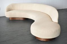 Large Serpentine Sofa by Vladimir Kagan for Directional image 2