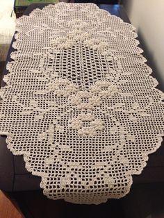Crochet Lace Edging, Unique Crochet, Thread Crochet, Filet Crochet, Crochet Doilies, Crochet Table Runner, Crochet Tablecloth, Crochet Bedspread, Crochet Mittens