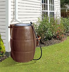 Forest City Models RC 4000 Rain Barrel Flat Back | The Home Depot Canada