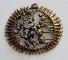 Vintage Brutalist Pendant