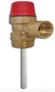 The Main Function Of A Temperature Pressure Relief Valve Is To Protect The Hot Water Cylinder From Reaching Temperatures Hot Water Central Heating Relief Valve