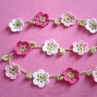 DIY: Blumenhäkelkette