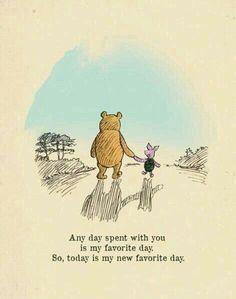 Just wanted to be sure of you. - 13 x de beste quotes van Winnie de Poeh