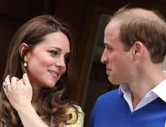 Pin for Later: Prince William and Kate Middleton's 65 Best Married Moments  Just after giving birth to Charlotte in May 2015, Kate shared this loving look with Will.