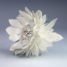 Junko Mori: A Silver Organism; Textured Spikes