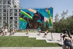 Henry Taylor  the floaters         March 17, 2017 – March 2018  Adjacent to the High Line at West 22nd Street    - See more at: http://art.thehighline.org/project/henrytaylor/#sthash.sO0BktWW.dpuf