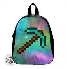 478bdad828 MINECRAFT diamond sword New Hot School Bag Backpack Minecraft Bag
