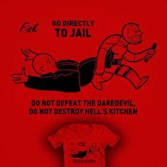 DAREDEVIL RIPT - Google Search Hells Kitchen, Daredevil, Marvel, Google Search, Movie Posters, T Shirt, Supreme T Shirt, Tee Shirt, Film Poster