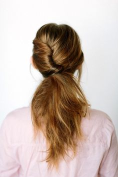 5 Inspiring French Twist Ponytails #hair #ponytail #updo
