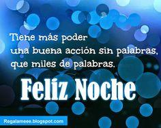 Buenas noches!!
