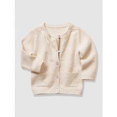 Casaco fantasia em tricot para bebé menina VERTBAUDET